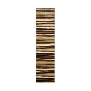 "Global Rug Designs Closeout! Global Rug Design Brighton BRI11 Brown 2'2"" x 14' Runner Area Rug  - Brown"