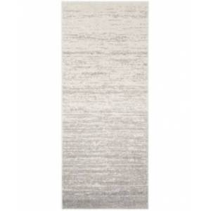 "Safavieh Adirondack Ivory and Silver 2'6"" x 12' Runner Area Rug  - Ivory"