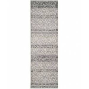 """Safavieh Adirondack Silver and Ivory 2'6"""" x 12' Runner Area Rug  - Silver"""