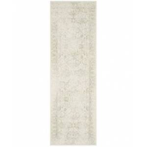 "Safavieh Adirondack Ivory and Sage 2'6"" x 12' Runner Area Rug  - Ivory"