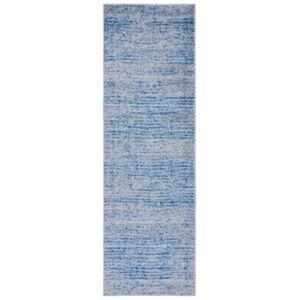 "Safavieh Adirondack Blue and Silver 2'6"" x 12' Runner Area Rug  - Blue"