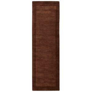 """Surya Mystique M-294 Dark Brown 2'6"""" x 8' Area Rug  - Brown"""