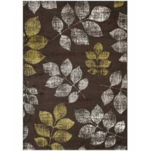 "Safavieh Porcello Brown and Green 8' x 11'2"" Area Rug  - Brown"