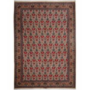 "Adorn Hand Woven Rugs Closeout! Adorn Hand Woven Rugs One of a Kind OOAK2700 Orange 8'2"" x 11'3"" Area Rug  - Red"