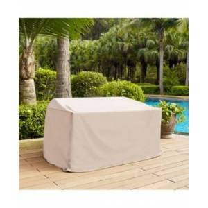 Crosley Outdoor Loveseat Furniture Cover  - Cherry