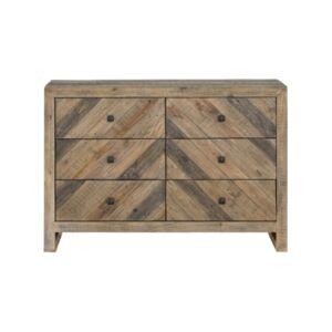 Moe's Home Collection Teigen 6 Drawer Dresser  - Brown