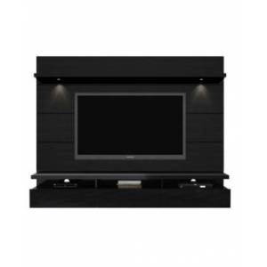 Manhattan Comfort Cabrini 2.2 Floating Wall Theater Entertainment Center  - Black