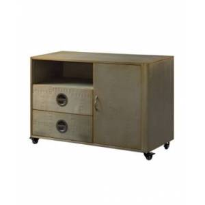 Acme Furniture Jennavieve Cabinet  - Gray