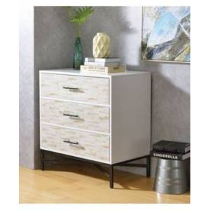 Acme Furniture Uma Console Table  - White