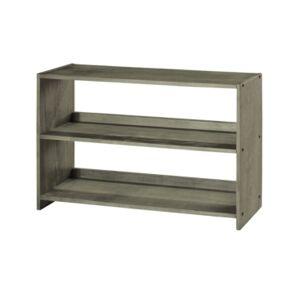 Donco Kids Bookcase Shelf for Low Loft  - Gray