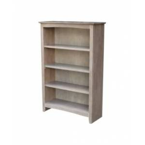 International Concepts Shaker Bookcase  - Gray