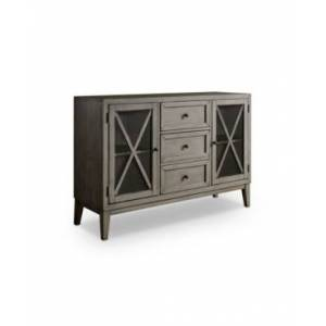 Furniture of America Newton 3 Drawer Server  - Gray