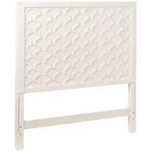 "My Home Amanda 40"" Twin Panel Headboard  - White"