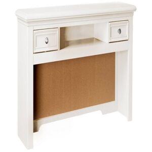 "My Home Bailey 50"" Desk Hutch  - White"