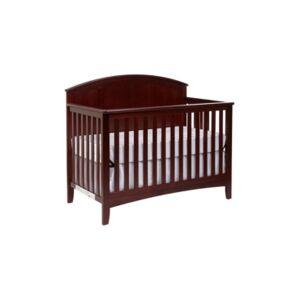 Suite Bebe Blakely 4-in-1 Convertible Crib  - Dark Red