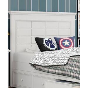 """My Home Bailey 44"""" Twin Panel Headboard  - White"""