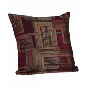 "Siscovers Stickley 20"" Designer Throw Pillow  - Med Red"