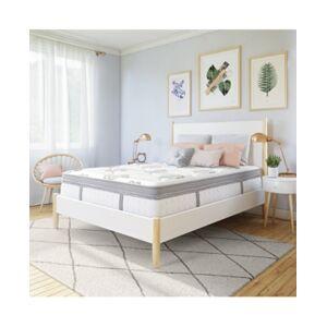 "Sleep Trends Hartz 14"" Cushion Firm Wrapped Coil Hybrid Box Top Mattress- King, Mattress in a Box"