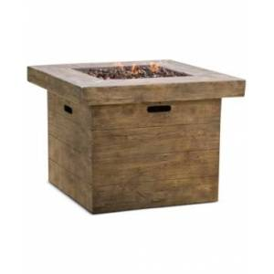 Noble House Garba Gas Fire Pit  - Brown