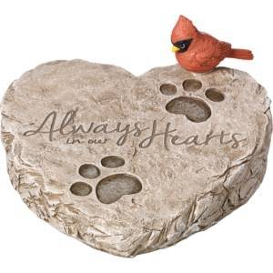 Precious Moments Always In Our Hearts Garden Stone  - Multi