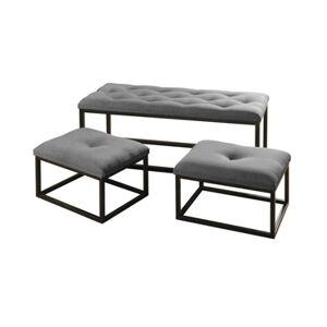 Stylecraft Parson Bench  - Grey