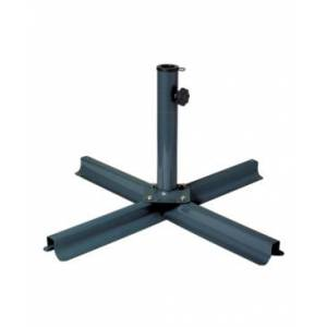 Corliving Distribution Patio Umbrella Stand  - Dark Grey