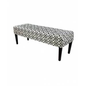Mjl Furniture Designs Kaya Button Tufted Entryway Long Bench  - Charcoal