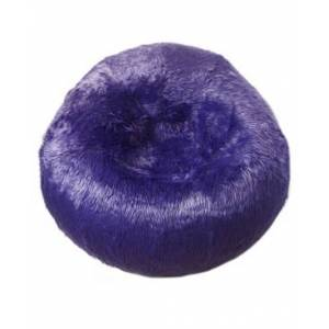 Acessentials Galaxy Fur Inflatable Chair  - Purple