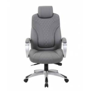Boss Office Products Stackable Guest Chair  - Gray