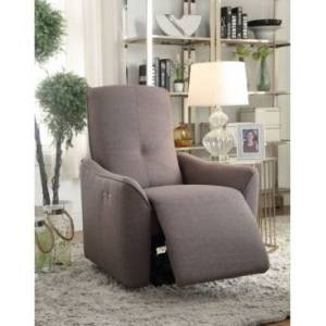 Acme Furniture Agico Recliner (Power Motion)  - Gray