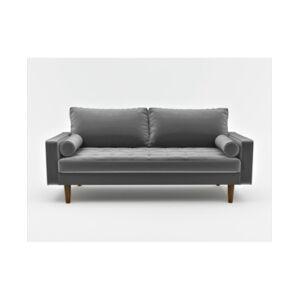 Us Pride Furniture Mac Sofa  - Gray