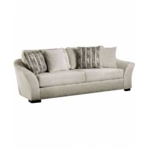 Furniture of America Edren Upholstered Sofa  - Cream