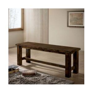 Furniture Of America BelTon I Rustic Oak Dining Bench  - Rustic Oak