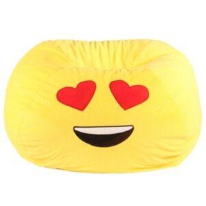 Acessentials Emoji Bean Bag Chair  - Yellow