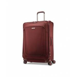"Samsonite Silhouette 16 30"" Softside Expandable Spinner Suitcase  - Cabernet Red"
