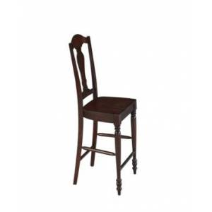 Home Styles Country Comfort Counter Stool  - Open Brown