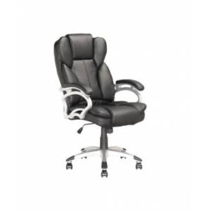 CorLiving Executive Office Chair in Leatherette  - Black