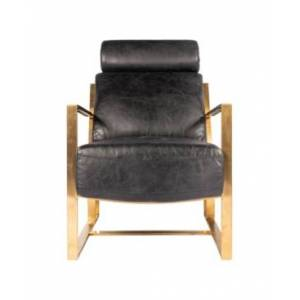 Moe's Home Collection Paradiso Chair Black  - 1 - BLACK