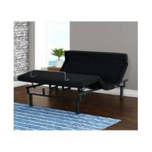 Primo International Felipe Upholstered Adjustable Bed- Twin Xl  - Black