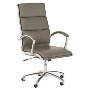 Bush Furniture Method High Back Executive Chair  - Wash Gray