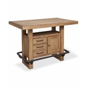 Furniture Brewing Collection Storage Bar Table