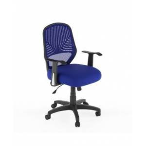 CorLiving Workspace Mesh Office Chair  - Blue