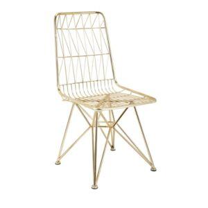 Imax Larkin Chair  - Gold