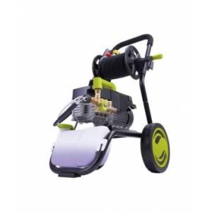 Sun Joe SPX9009-Pro Commercial Series Cold Water Electric Direct Drive Crank Shaft Pressure Washer 1800 Psi Max 1.6 Gpm Max 2.41 Hp Brushless induction Motor 120 Volt Wall Mount Roll Cage Hose Reel  - Green