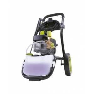 Sun Joe SPX9005-Pro Commercial Series Cold Water Electric Direct Drive Crank Shaft Pressure Washer 1300 Psi Max 2 Gpm Max 2.15 Hp Brushless induction Motor 120 Volt Wall Mount Roll Cage  - Green