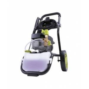Sun Joe SPX9008-Pro Commercial Series Cold Water Electric Direct Drive Crank Shaft Pressure Washer 1800 Psi Max 1.6 Gpm Max 2.41 Hp Brushless induction Motor 120 Volt Wall Mount Roll Cage  - Green