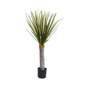 Nearly Natural 3' Yucca Tree  - Green
