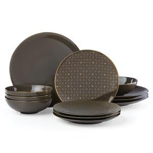 Lenox Trianna 12-Pc. Dinnerware Set, Service for 4  - Slate