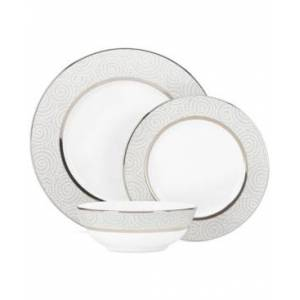Lenox Pearl Beads 3 Piece Place Setting  - no color