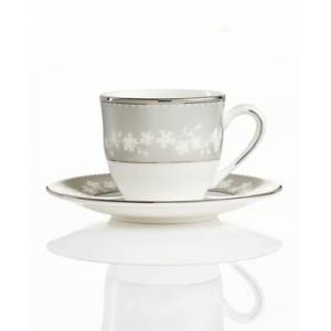 Lenox Bellina Espresso Cup and Saucer Set  - No Color
